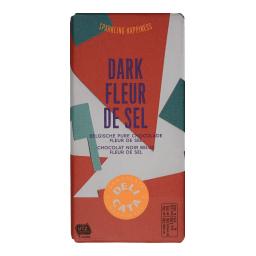 Μαύρη Σοκολάτα Με Ανθό Αλατιού 180gr