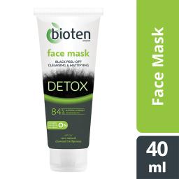 Μάσκα Προσώπου Detox Charcoal 40ml