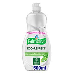 Υγρό Πιάτων Eco Respect Φρεσκάδα Ευκαλύπτου 500ml