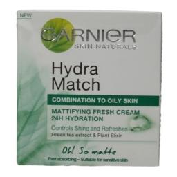 Κρέμα Προσώπου Hydra Match Λιπαρή Επιδερμίδα 50ml