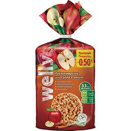 Ρυζογκοφρέτες Μήλο & Κανέλα 102gr (-0.5E)
