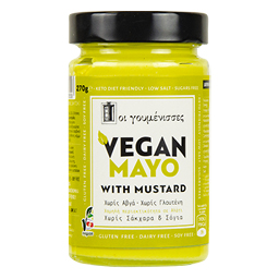 Μαγιονέζα Vegan Mayo Mustard 320ml