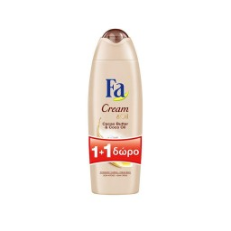 Αφρόλουτρο Cacao Butter & Coco Oil 750ml 1+1 Δώρο