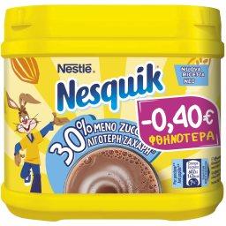 Ρόφημα Στιγμής Κακάο 30% Λιγότερη Ζάχαρη 350g Έκπτωση 0.40Ε