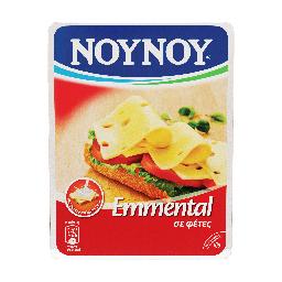 Τυρί Ημίσκληρο Emmental Φέτες 160gr