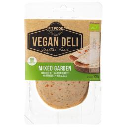 Φέτες Αλλαντικών Vegan Βιολογικές με Λαχανικά 100g