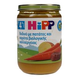 Παιδικό Γεύμα Βοδινό Με Πατάτες & Καρότα 190gr