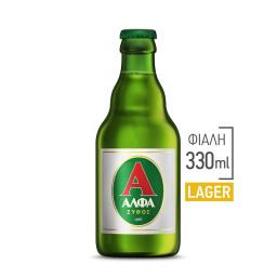 Μπύρα Lager Φιάλη 330ml