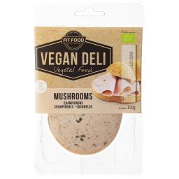 Φέτες Αλλαντικών Vegan Βιολογικές με Μανιτάρια 100g