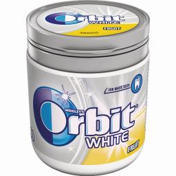 Τσίχλες White Φρούτα 84g