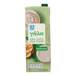 Γάλα Υψηλής Θερμικής Επεξεργασίας Ελαφρύ 1.5lt