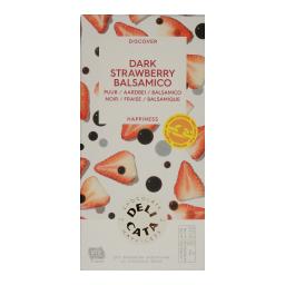 Μαύρη Σοκολάτα Με Φράουλα & Μπαλσάμικο 100gr