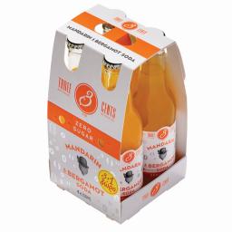 Αναψυκτικό Mandarin & Bergamot Zero 4x200ml 3+1 Δώρο