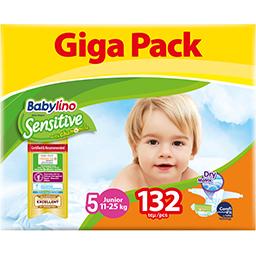 Πάνες Μωρού Sensitive No5 11-25kg Giga Pack 132 Τεμάχια
