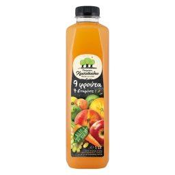 Φυσικός Χυμός 9 Φρούτα και Βιταμίνες  1 lt