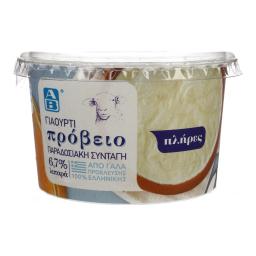 Γιαούρτι Πρόβειο 6,7% Λιπαρά 240 gr