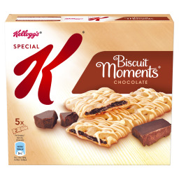 Μπάρες Δημητριακών Biscuit Moments Σοκολάτα 5X25 gr
