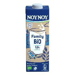 Γάλα Family Bio Αγελαδινό Πλήρες 1lt