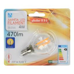 Λάμπα Led Filament E14 4W 1 Τεμάχιο