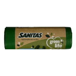Σακούλες Απορριμμάτων Green Life Γίγας 70x101cm 10 Τεμάχια