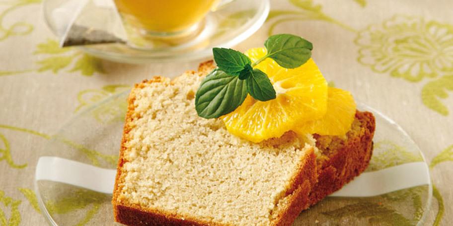 Κέικ με τσάι πορτοκαλιού