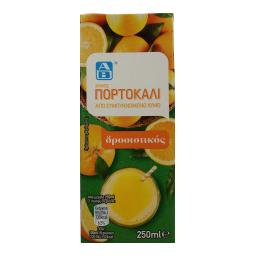 Χυμός Φυσικός Πορτοκάλι 250ml